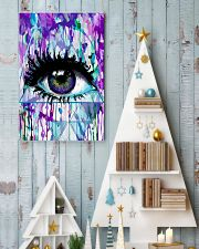 Art Purple Eye Optometrist   11x17 Poster lifestyle-holiday-poster-2
