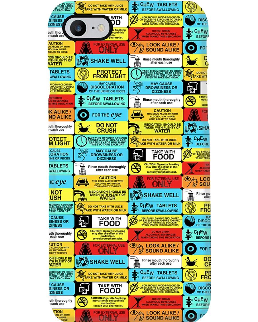 Pharmacy Pill Recipes Phone Case