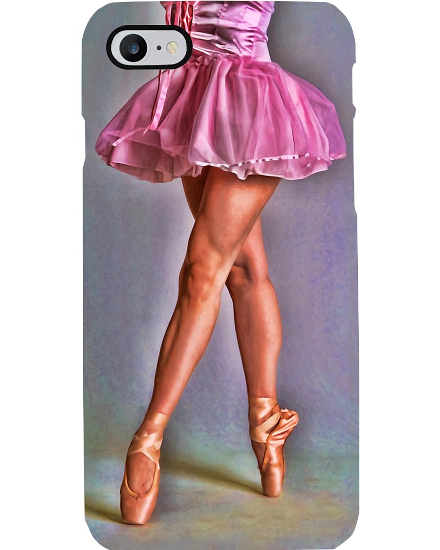 Ballet Dancer Pink Girl Phone Case