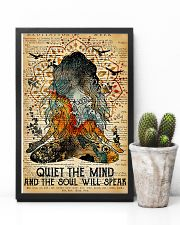 Yoga Quiet the mind and the soul will speak 11x17 Poster lifestyle-poster-8