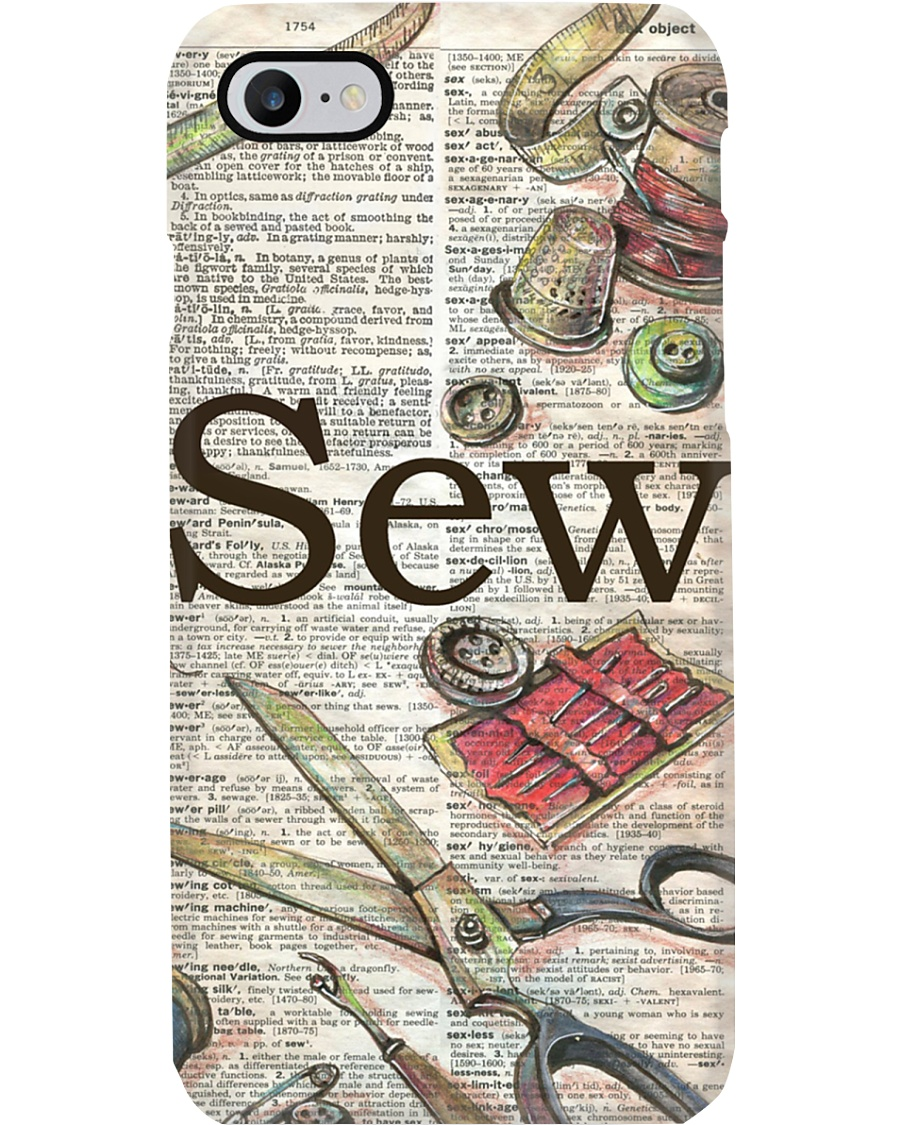 Sewing Definition Phone Case