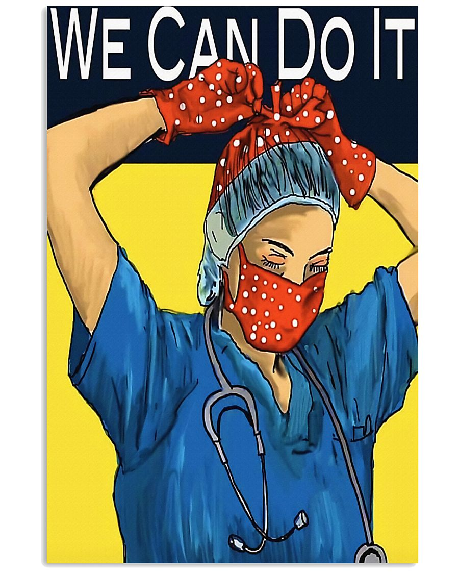 Medical Assistant We can do it 11x17 Poster
