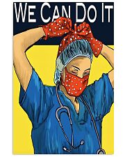 Medical Assistant We can do it 11x17 Poster front