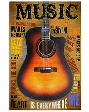 Guitar Music Is Everywhere 11x17 Poster front