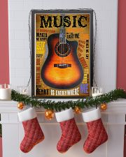 Guitar Music Is Everywhere 11x17 Poster lifestyle-holiday-poster-4
