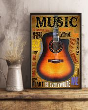 Guitar Music Is Everywhere 11x17 Poster lifestyle-poster-3