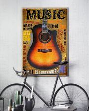 Guitar Music Is Everywhere 11x17 Poster lifestyle-poster-7