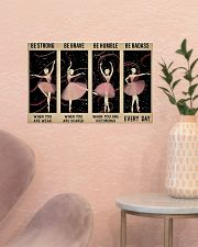 Ballet - Be Strong When You Are Weak 17x11 Poster poster-landscape-17x11-lifestyle-22