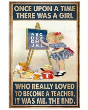 Teacher Girl Loved To Become 11x17 Poster front