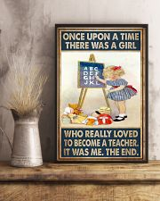 Teacher Girl Loved To Become 11x17 Poster lifestyle-poster-3