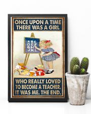 Teacher Girl Loved To Become 11x17 Poster lifestyle-poster-8
