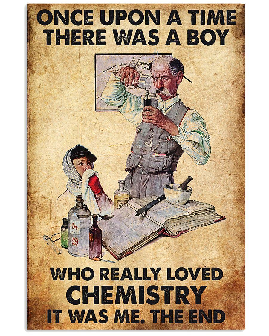 Chemist A Boy Really Loved Chemistry 11x17 Poster