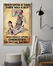 Chemist A Boy Really Loved Chemistry 11x17 Poster lifestyle-poster-1