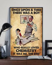 Chemist A Boy Really Loved Chemistry 11x17 Poster lifestyle-poster-2