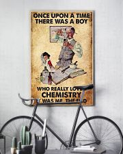 Chemist A Boy Really Loved Chemistry 11x17 Poster lifestyle-poster-7