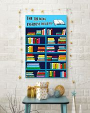 Librarian The 100 Books 11x17 Poster lifestyle-holiday-poster-3