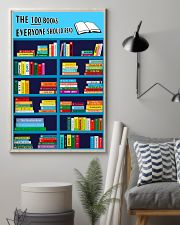 Librarian The 100 Books 11x17 Poster lifestyle-poster-1