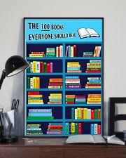 Librarian The 100 Books 11x17 Poster lifestyle-poster-2