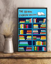 Librarian The 100 Books 11x17 Poster lifestyle-poster-3