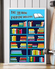 Librarian The 100 Books 11x17 Poster lifestyle-poster-4