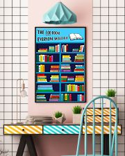 Librarian The 100 Books 11x17 Poster lifestyle-poster-6