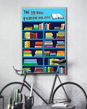 Librarian The 100 Books 11x17 Poster lifestyle-poster-7