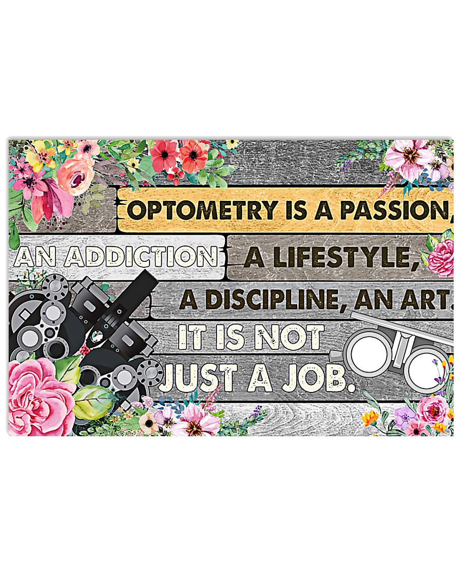 Optometrist Passion 17x11 Poster
