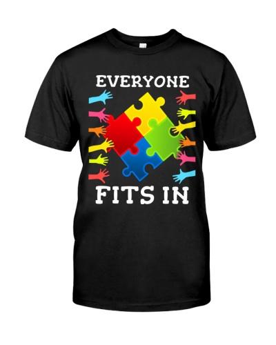 Autism Awareness Everyone Fits in