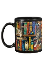 Librarian Cat Mug back