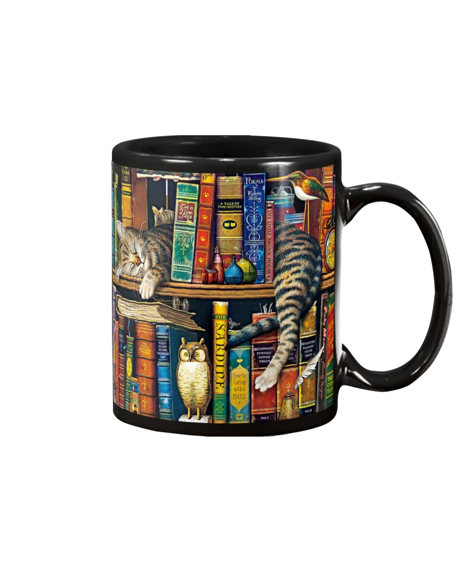 Librarian Cat Mug