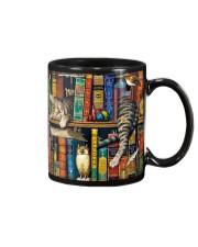 Librarian Cat Mug front