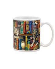 Librarian Cat Mug tile