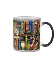 Librarian Cat Color Changing Mug thumbnail