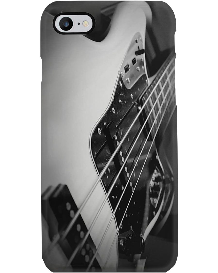 Bass Guitar Art Grey  Phone Case