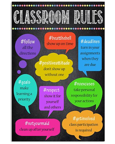 Teacher Classroom Rules