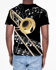 Trombonist Beautiful Trombone All-over T-Shirt aos-all-over-T-shirt-lifestyle-back-02