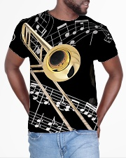 Trombonist Beautiful Trombone All-over T-Shirt aos-all-over-T-shirt-lifestyle-front-04