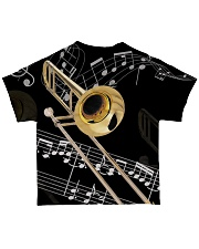 Trombonist Beautiful Trombone All-over T-Shirt back