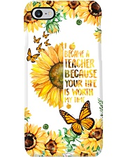 Your Life Is Worth My Time So I Became Teacher  Phone Case i-phone-7-case