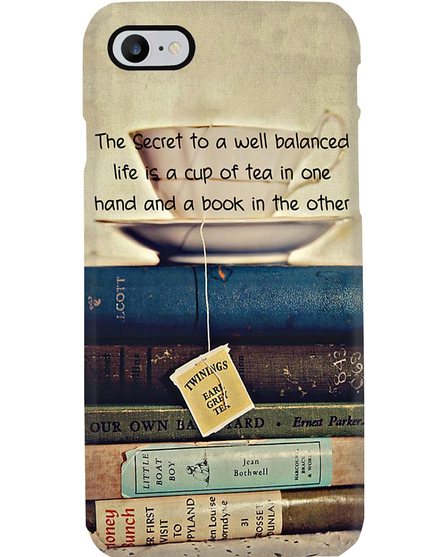 Librarian A Well Balanced Life Phone Case