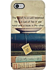 Librarian A Well Balanced Life Phone Case i-phone-7-case