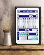 Baker Conversion Chart 11x17 Poster lifestyle-poster-3
