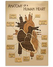 Paramedic Anatomy Of A Human Heart 11x17 Poster front