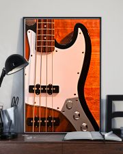 Bass Guitar 4 Strings  11x17 Poster lifestyle-poster-2