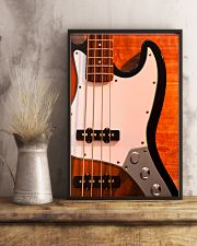 Bass Guitar 4 Strings  11x17 Poster lifestyle-poster-3