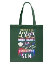 Chef I call him my son Tote Bag thumbnail