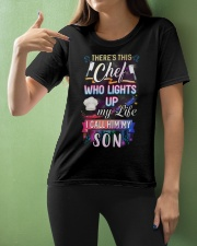 Chef I call him my son Ladies T-Shirt apparel-ladies-t-shirt-lifestyle-front-10
