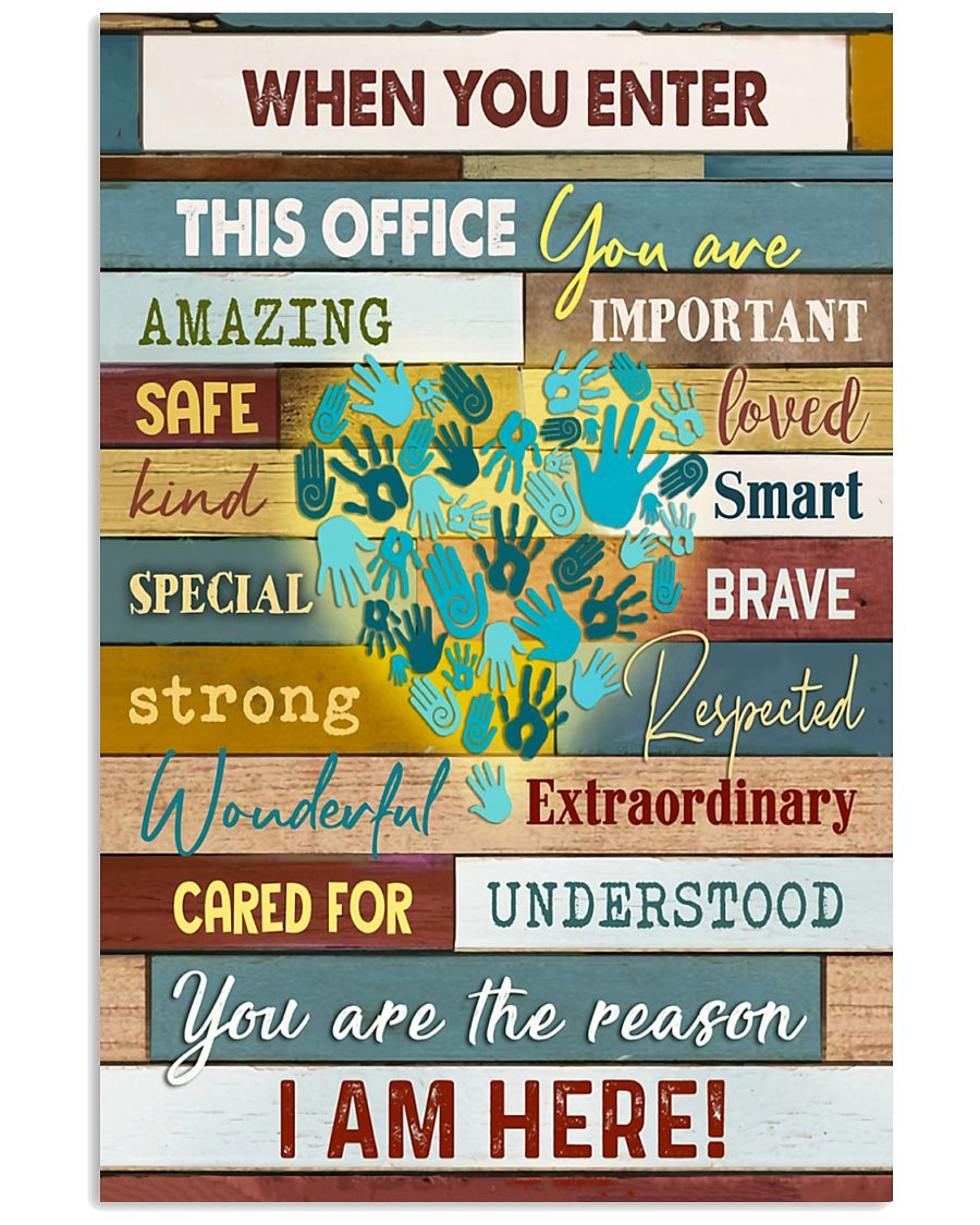 Social Worker I am here 11x17 Poster