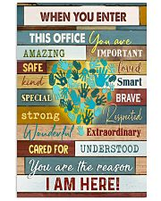 Social Worker I am here 11x17 Poster front