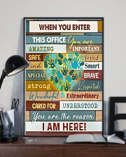 Social Worker I am here 11x17 Poster lifestyle-poster-2